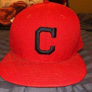 New Era Cleveland Indians Hat 7-3/8